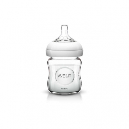 Biberon en Verre Natural 120 ml Avent